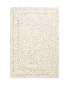 Terrisol Reversible Cotton Bath Rug (Ivory)