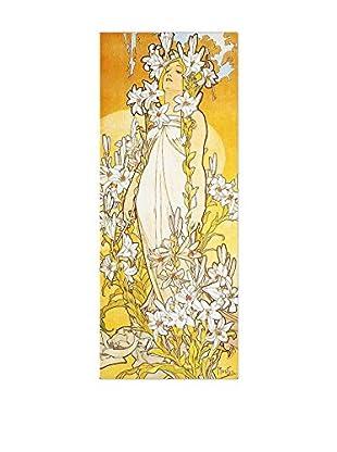 Artopweb Wandbild Lily Bunt