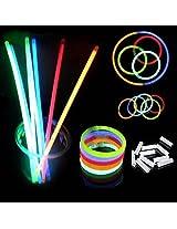M2cbridge Glowsticks Bracelets Mixed Color Set of 100