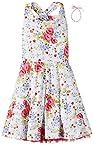 Gini & Jony Girls' Casual Dress (122250369968 1265_Lavender_11 - 12 years)