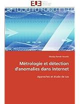Metrologie Et Detection D'Anomalies Dans Internet (Omn.Univ.Europ.)