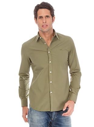 Gas Camisa Tyson (Verde Caza)