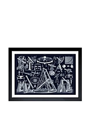 Oliver Gal Astronomical Objects Framed Giclée