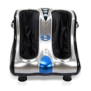 JSB HF05 Leg and Foot Massager (Silver-Black)
