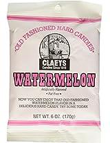 Claeys Old Fashioned Hard Candies 2.25 lb (Six, 6-oz bags) (Watermelon)
