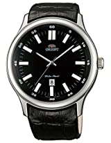 Orient Black Dial Analogue Watch for Men (SUNC7004B0)
