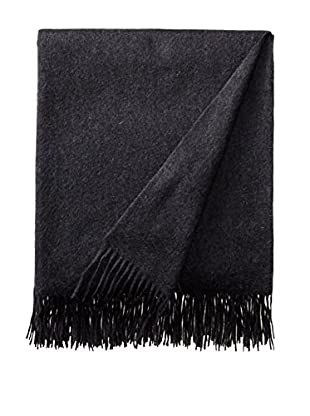 Sofia Cashmere Trentino Throw, Charcoal