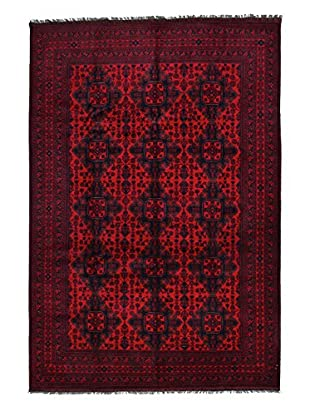 Darya Rugs Traditional Oriental Rug, Red, 6' 8