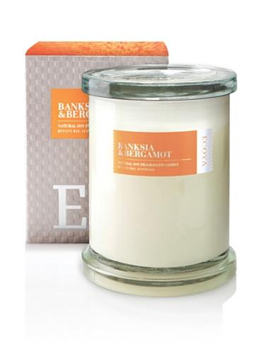 Ecoya Botanicals Metro Jar Scented Candle in Banksia and Bergamot Fragrance
