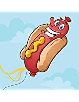 Hot Dog Cone Kite Unique, Eye Catching Design Best Selling Kite For Kids And Adults Includes Instruction E Book Covered By Lifetime Guarantee