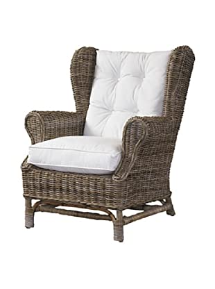 Padma's Plantation Wing Chair, Kubu Grey