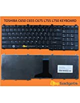 Lap Gadgets Laptop Keyboard For Toshiba Satellite L755-S5156 6 months warranty with Free Keyboard Protector Skin by Lap Gadgets