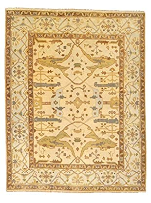 nuLOOM One-of-a-Kind Rolland Hand-Knotted Rug, Ivory, 8' 2