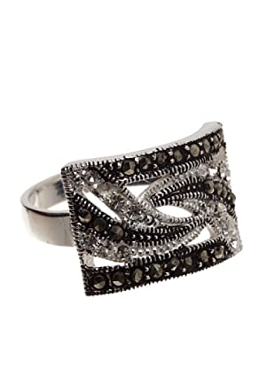Silver One Anillo Ajustable High Society Marquesita