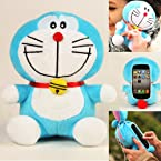 Authentic iPlush Plush Toy Case for iPhone 5 5G itouch 5 Doraemon/iTouch 4
