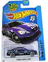 Mattel Hot Wheels 2014 Hw City 11/250 Hw Goal Hyundai Genesis Coupe (Purple)