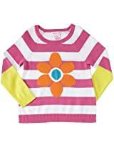 Design History Daisy Sweater Tunic (Toddler/Kid) - Mod Pink-6x