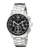 Claude Bernard Men's 10212 3 NIN Analog Display Swiss Quartz Silver Watch