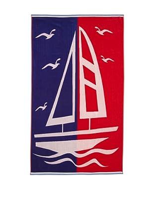 Chortex Boating, Red/Blue, 40