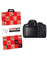 Scratchgard Ultra Clear Screen Protector For Canon EOS 1200D