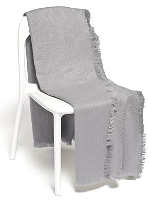 Frette Plaid 100% Merino Wool (grigio)