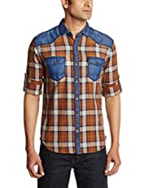 Locomotive Men's Cotton Casual Shirt