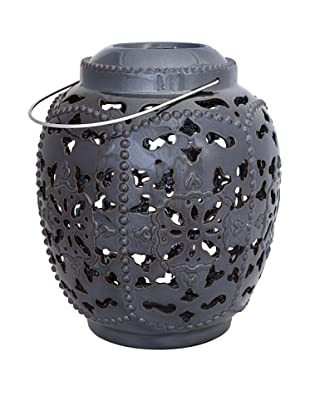 Metallic Cutwork Lantern, Large