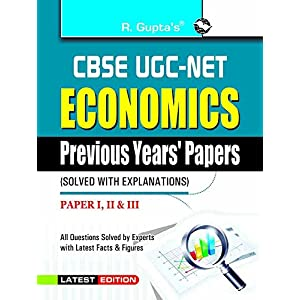 CBSE-UGC-NET: Economics Previous Papers (Solved)