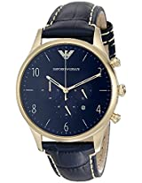 Emporio Armani Analog Blue Dial Men's Watch - AR1862