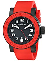 red line Men's RL-50051-BB-01-RDS Xlerator Analog Display Japanese Quartz Red Watch