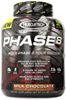Muscletech Phase 8 Sustained Release Protein - 4.5 lbs (Milk Chocolate)