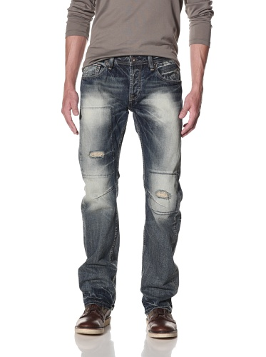 Cult of Individuality Men's Hagen Relaxed Jeans (Pebble)