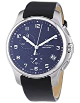 Swiss Army Victorinox Officers Leather Chronograph Mens Watch 241552.1