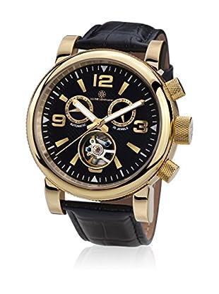 Mathis Montabon Reloj automático Man La Grande Negro 48 mm