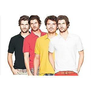 Polo tsxpolo2961 Men's Casual 4-T-Shirts