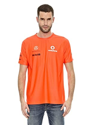 Vodafone McLaren Camiseta Team Victory (Naranja)