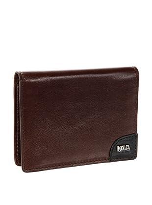 Nava Design Portacarte Treck (Marrone)