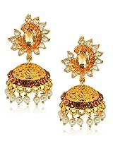YouBella Designer Traditional Pearl Jhumki Earrings
