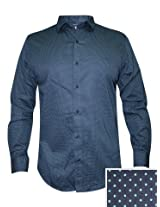 Peter England Dark Green Casual Shirt