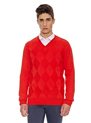 Carrera Jeans Jersey Pico Algodón (Rojo)