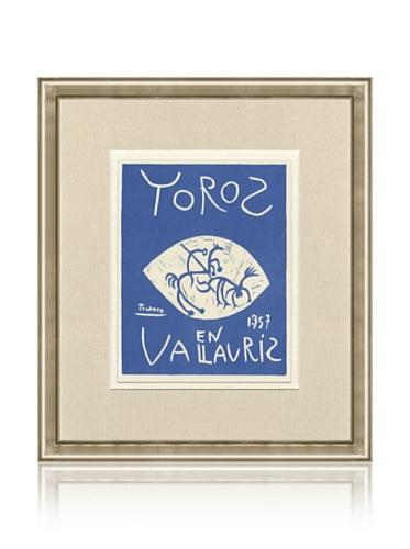Pablo Picasso Toros en Vallauris, 1959, 14