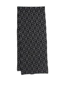 Hermès Men's Cashmere Scarf (Gray/Black)