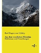 Aus dem westlichen Himalaja (German Edition)