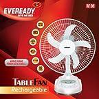 Eveready RF06 Rechargeable Table Fan