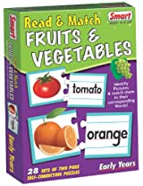 Smart Read and Match Fruits and Vegetables