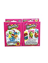 Hasbro Shopkins Card Games Bundle With 1 Top Trumps Whos the Super Shopper Card Game Set and 1 Jumbo Playing Cards Set 2 Items