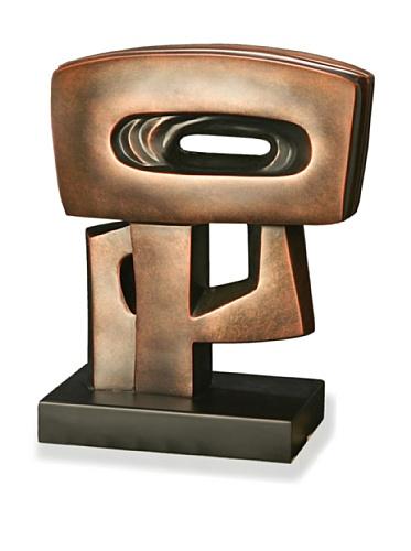 Brushed Copper Sculpture, Copper