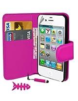 Iphone 4/4S Book Wallet Case