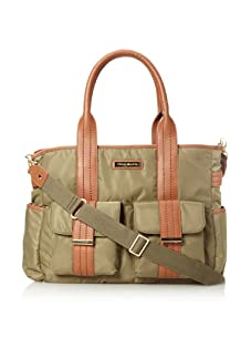 Perry Mackin Zoey Diaper Tote, Olive