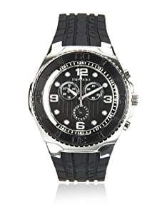 Breed Men's Rogue Black Polyurethane Watch